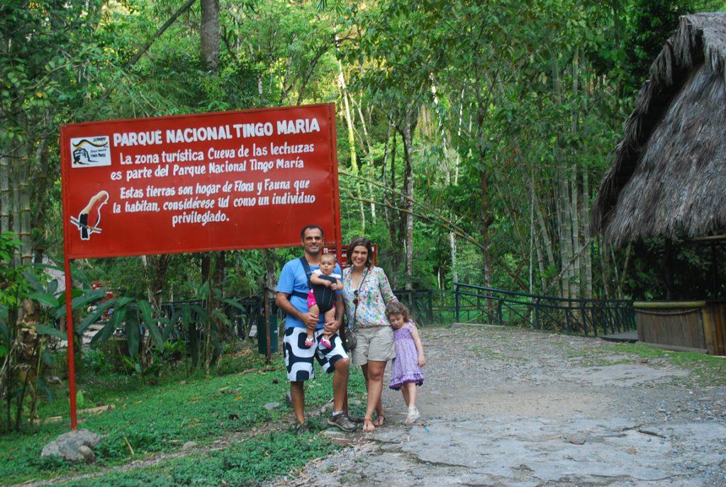 Conhecendo o Parque Nacional de Tingo Maria, Peru.