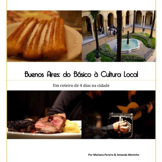 """Capa do guia """"Buenos Aires básica"""", do Buenos Guias."""