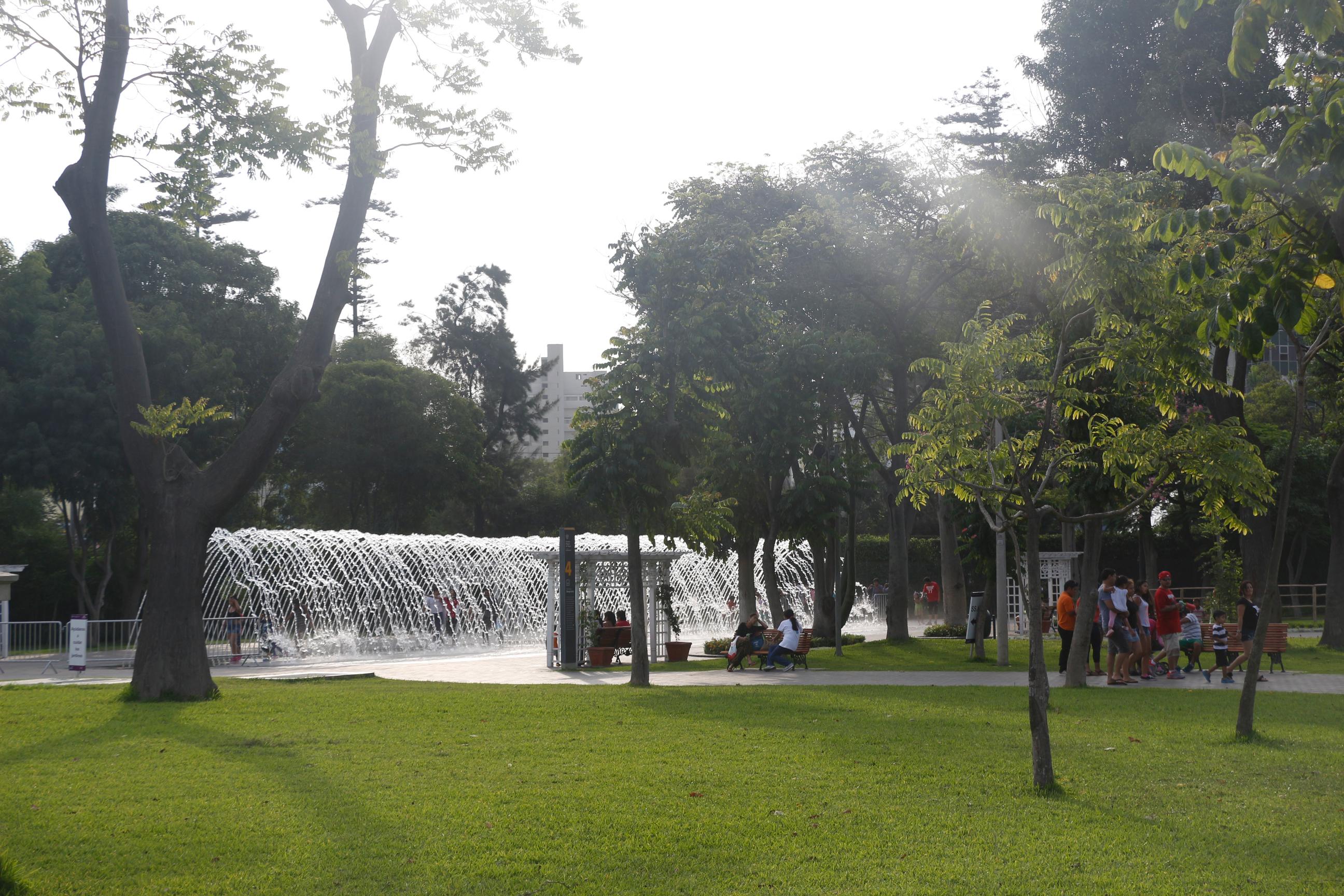 Fontes do Circuito das Águas.