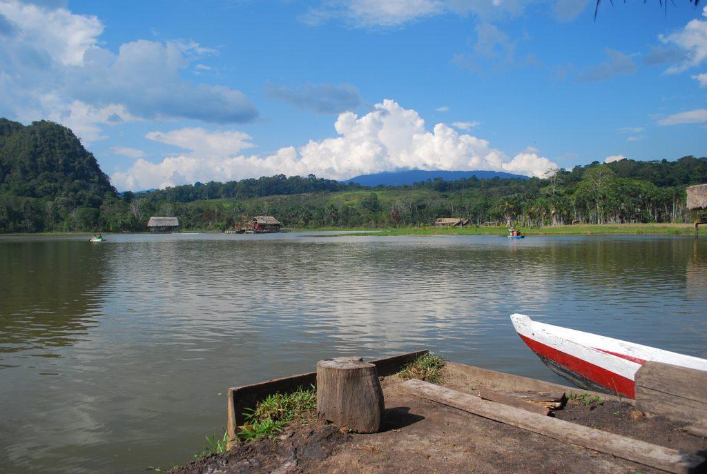 Laguna de Los Milagros em Tingo Maria.