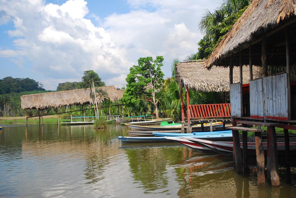 Laguna de Los Milagros em Tingo Maria