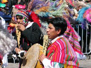 Inti Raymi em Cusco no Peru