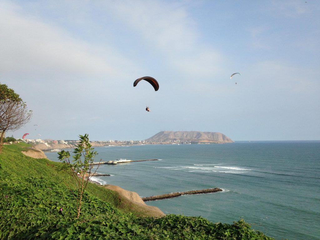 parapente em Lima