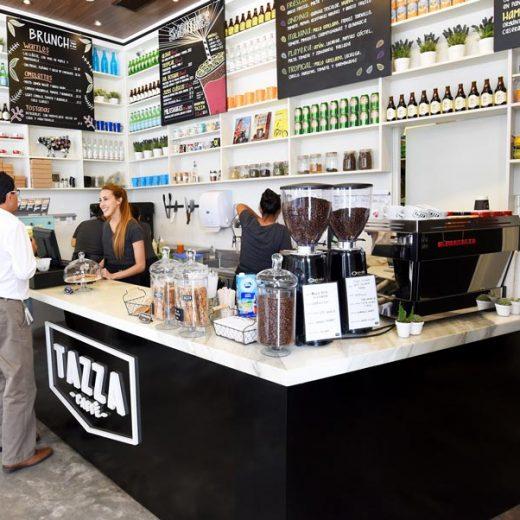 Tazza Café em Lima
