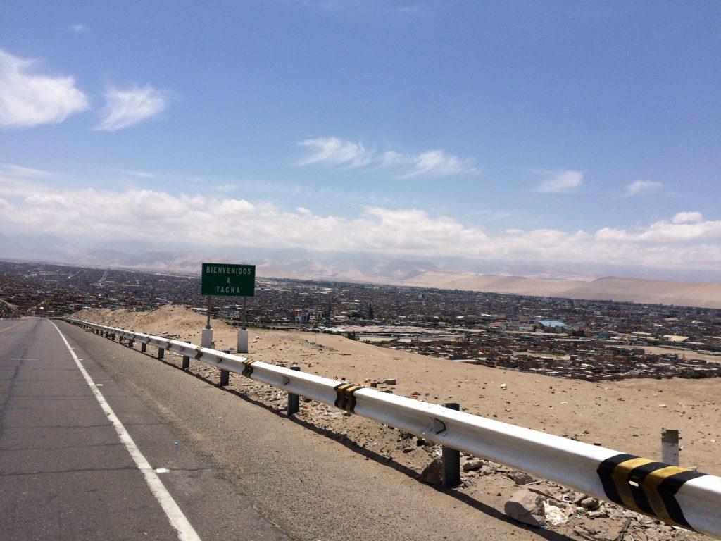 Bienvenidos a Tacna