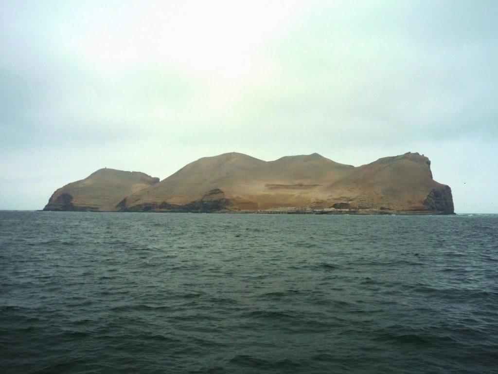 Islas Palominos em Lima, Peru
