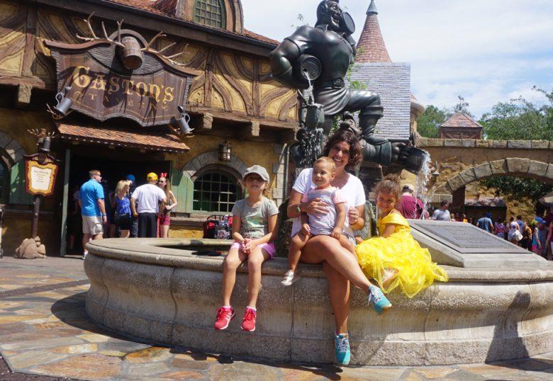 Miami e Disney com crianças